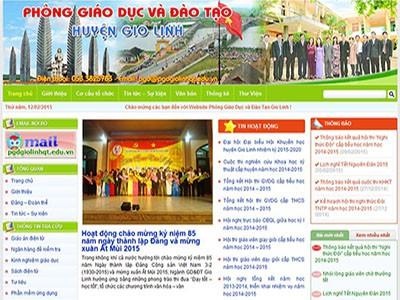 Cổng thông tin điện tử Phòng GD&ĐT Gio Linh – Quảng Trị