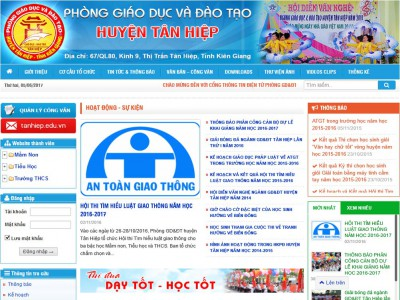 Cổng thông tin điện tử Phòng GD&ĐT Tân Hiệp – Kiên Giang