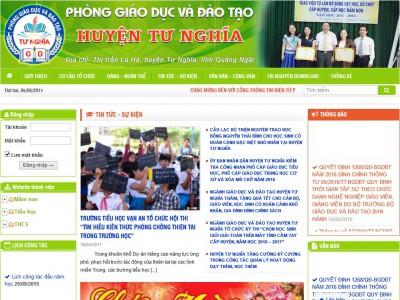 Cổng thông tin điện tử Phòng GD&ĐT Tư Nghĩa – Quảng Ngãi